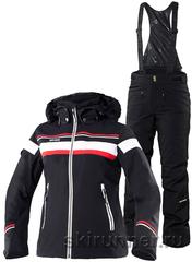 Горнолыжный костюм Carlin Black Poppy 2018 black женский