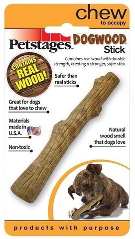 PETSTAGES DOGWOOD WOODEN WAND