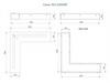 схема Угловой топливный блок LUX FIRE 500x500 M