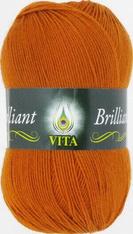 Пряжа Brilliant Vita 4998 терракот фото