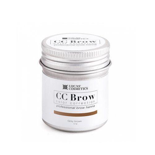 Хна для бровей CC Brow 10гр в баночке Grey Brown Серо-коричневый