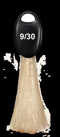 OLLIN N-JOY  9/30 – блондин золотистый, перманентная крем-краска для волос 100мл
