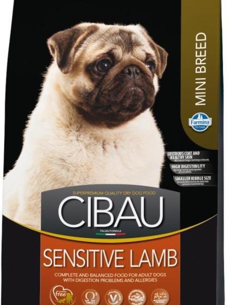 Farmina Корм для собак мелких пород, Farmina Cibau Sensitive Mini, с ягненком cibau-sensitive-lamb-mini-450x600.jpg