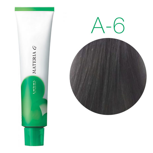 Lebel Materia Grey A-6 (тёмный блондин пепельный) - Перманентная краска для седых волос
