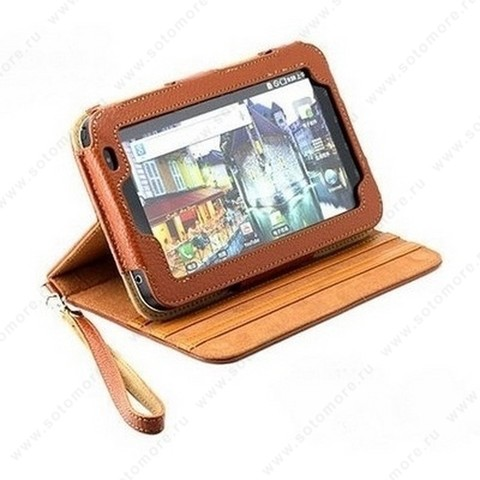 Чехол-книжка Yoobao для Samsung Galaxy Tab P1000 - Yoobao Magic Leather Case Brown