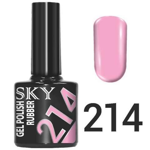 Sky Гель-лак трёхфазный тон №214 10мл