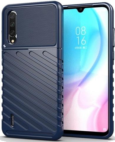 Чехол Xiaomi Mi A3 (CC9E) цвет Blue (синий), серия Onyx, Caseport