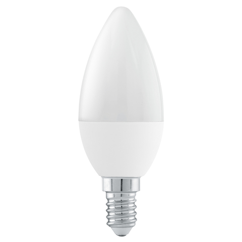 "Лампа  LED 3 шага диммирования Eglo STEP DIMMING LM-LED-E14 6W 470Lm 3000K C37 ""Свеча"" 11581"