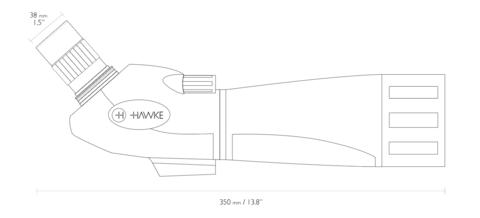 Зрительная труба Hawke Vantage 20-60x60 Spotting Scope