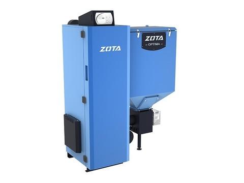 Котел твердотопливный автоматический Zota Optima 32кВт