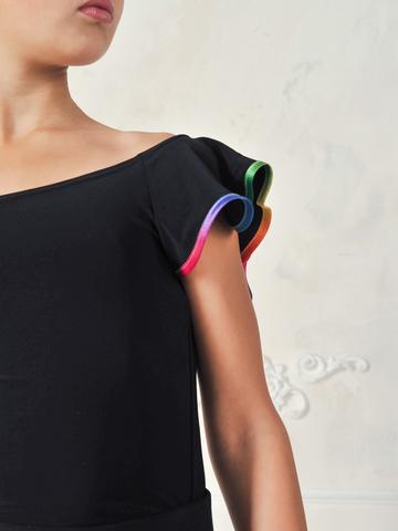Детская блуза с рукавами-крыльями