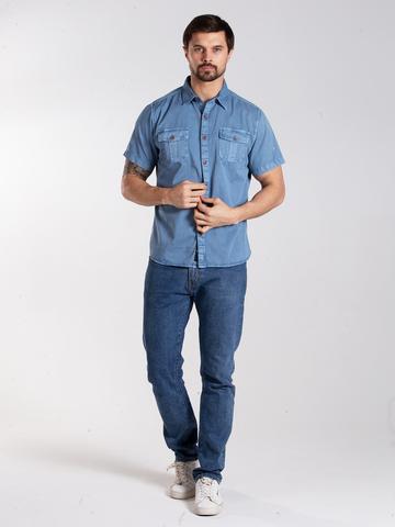 Рубашка к/р муж.  M012-05D-51GR DETROIT