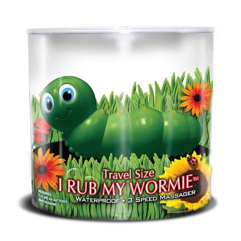 Вибратор-гусеница - I Rub My Wormie
