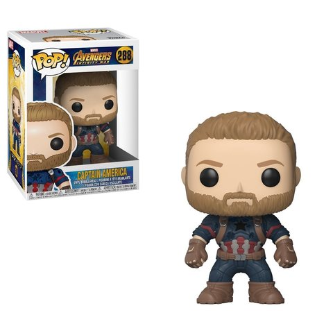 Captain America. Avengers Infinity War Funko Pop! Marvel Vinyl Figure || Капитан Америка. Война Бесконечности