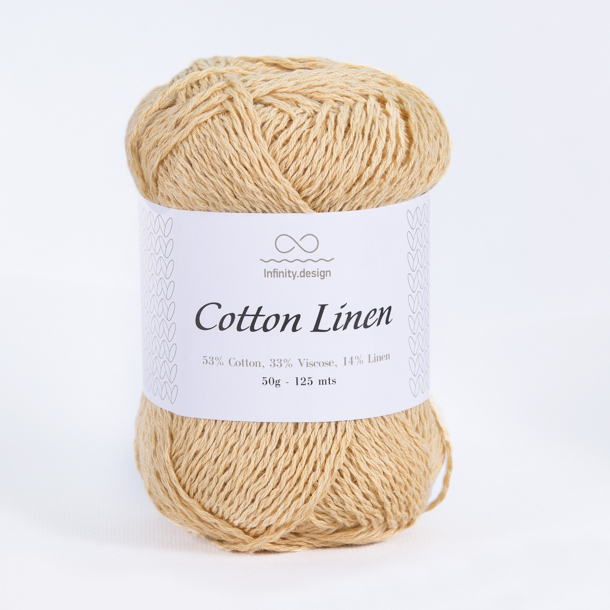 Пряжа Infinity Cotton Linen 2124 одуванчик