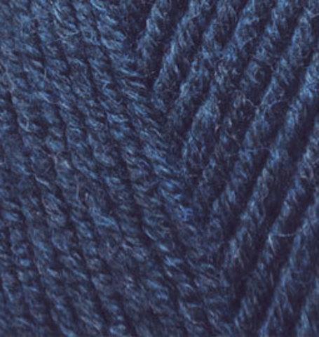 Пряжа Alize Lanagold 58 темно-синий