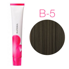 Lebel Materia 3D B-5 (светлый шатен коричневый) - Перманентная низкоаммичная краска для волос