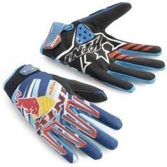 Мотоперчатки KINI RED BULL KTM, кроссовые перчатки размер S (оригинал)