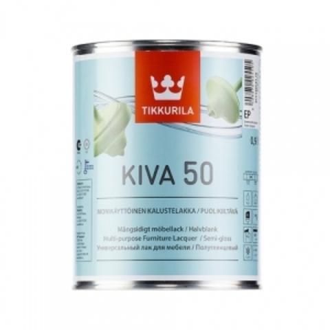 Tikkurila Kiva / Тиккурила Кива лак для мебели полуглянцевый