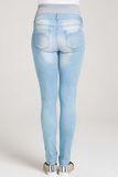 Джинсы для беременных (SKINNY) 07581 синий