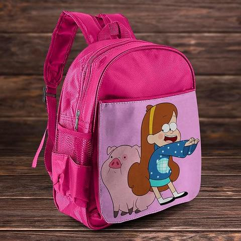 Рюкзак с Пухлей и Мейбл