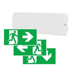 Пиктограммы наклейки на аварийные светильники LIBRA 3PLED B234