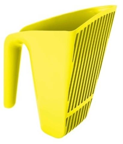 Moderna совочек Scoop & Sift 15x13x13h см отверстия узкие, желтый