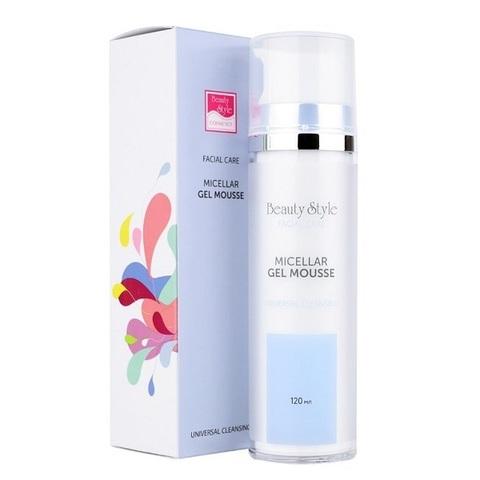 Мицеллярный очищающий гель-мусс для всех типов кожи Beauty Style Cleansing universal 120мл