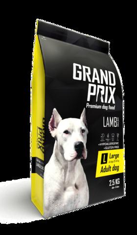 Grand Prix Large Adult сухой корм для взрослых собак крупных пород (с ягненком) 2,5кг