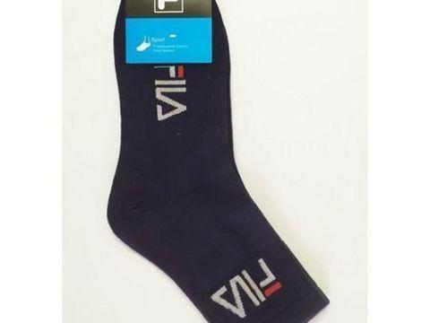 Мужские носки Fila длинные темно-синие 1 шт.