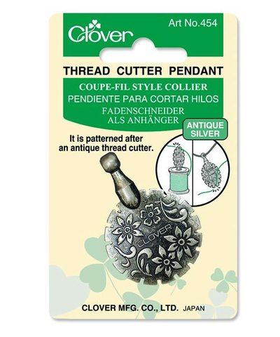 Clover Нитеобрезатель Antik Silver (в виде кулона)