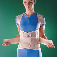 Корсет на грудной пояснично-крестцовый отдел позвоночника (6 металлических ребер)