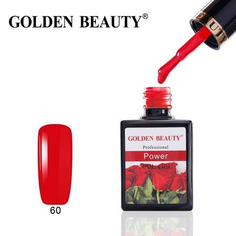 Гель лак Golden Beauty 14 ml, Power