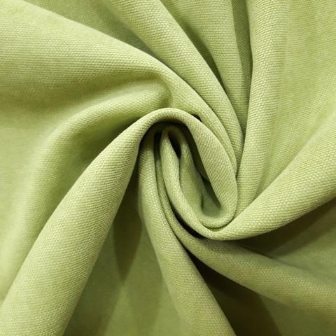 Канвас - ткань для штор - салатовый. Ширина - 280 см. Арт. 15-19