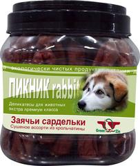 Лакомство для собак Green Qzin Пикник Rabbit
