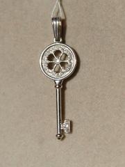 Ключик (кулон из серебра)
