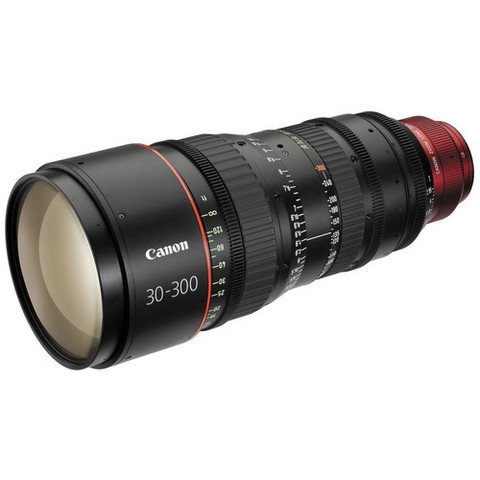 Объектив Canon CN-E 30-300mm T2.95-3.7 L S Black для Canon