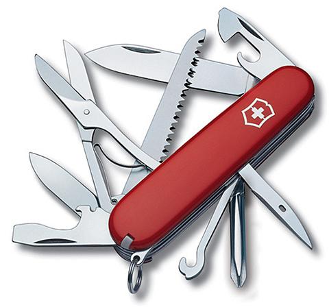 Нож Victorinox Fieldmaster, 91 мм, 15 функций, красный123