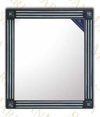 Зеркало SanMaria Версаль-75 черный, серебро