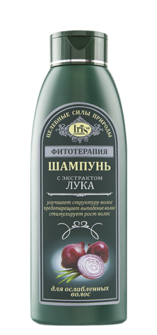 Iris Фитотерапия Шампунь с экстрактом лука 500 мл