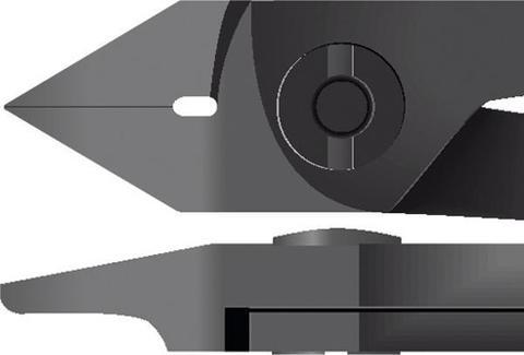 Кусачки-бокорезы для электроники, острая головка 110 мм
