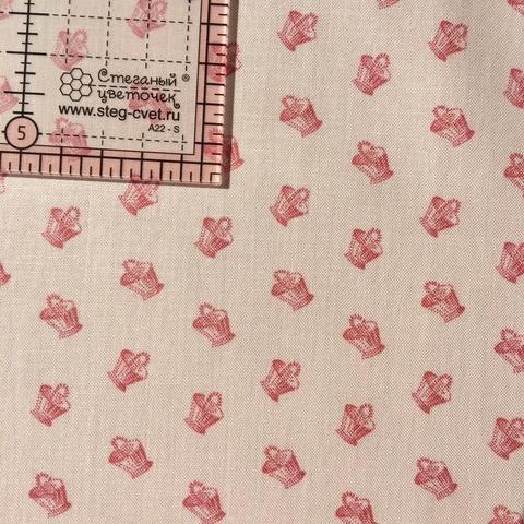 Ткань для пэчворка, хлопок 100% (арт. X0628)