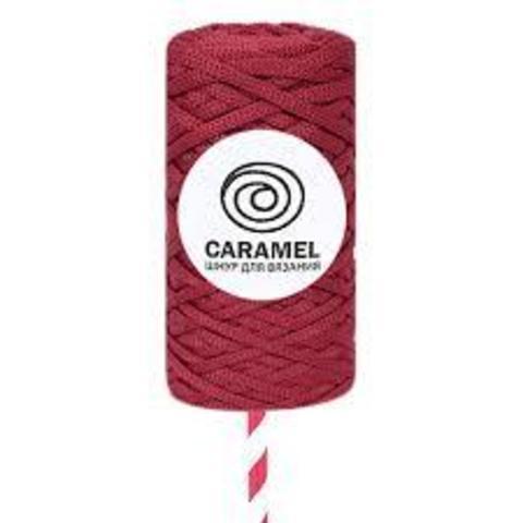 Полиэфирный шнур Caramel Гранат