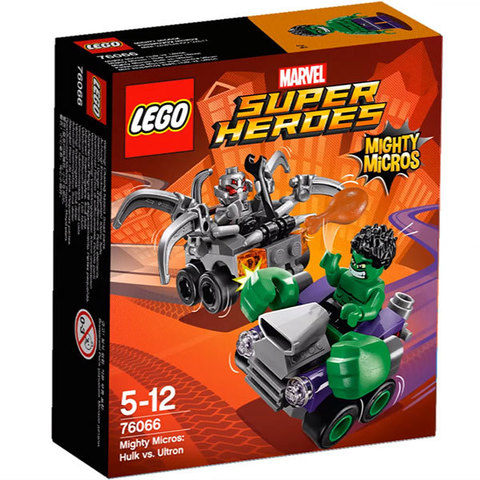 LEGO Super Heroes: Халк против Альтрона 76066 — Mighty Micros: Hulk vs. Ultron — Лего Супергерои Marvel Марвел DC Comics комиксы