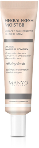 MANYO FACTORY Herbal Fresh Moist BB CREAM SPF29 PA++  Увлажняющий BB-крем  30 мл