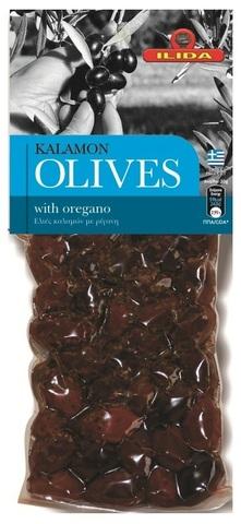 Оливки Каламата с орегано OLIVES 150 гр