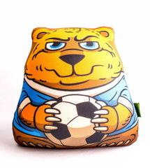 Подушка-игрушка антистресс «Медведь-футболист» 1