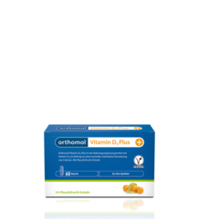 Orthomol Vitamin D3 Plus - витамин D3 из физалиса для веганов, 30 порций ( капсулы)