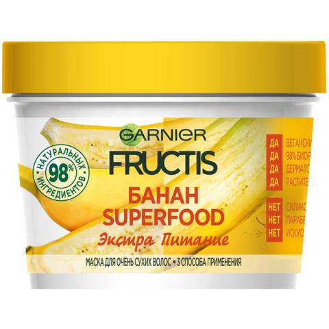 "Маска ""Fructis"" Суперфуд Банан 390мл"