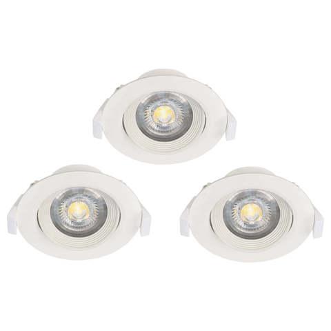 Комплект светильников светодиодных встраиваемых регулируемых Eglo SARTIANO 32896